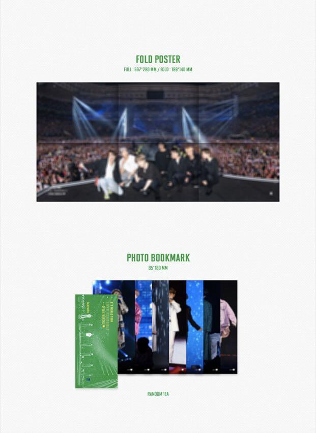 BTS WORLD TOUR 'LOVE YOURSELF: SPEAK YOURSELF' SAO PAULO DVD + Pre-order Gift