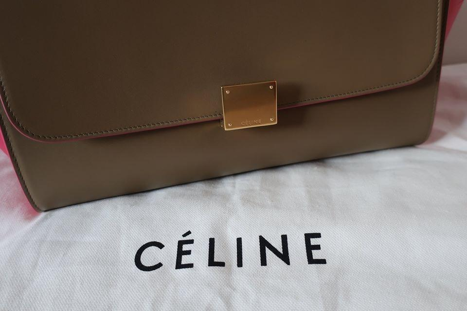 CELINE TRAPEZE (100% AUTHENTIC) DUSTBAG/RECEIPTS/EVERYTHING