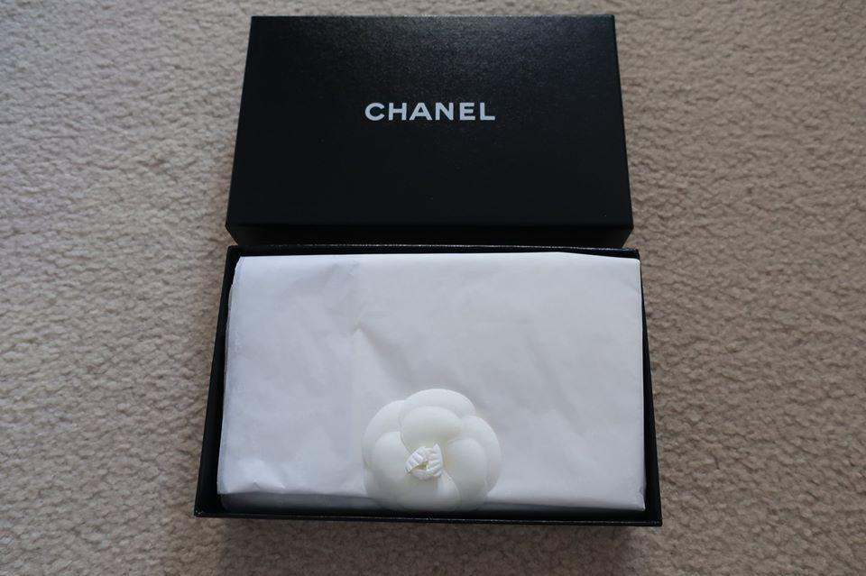 CHANEL Patent Wallet (100% AUTHENTIC) - NEW IN BOX - all cards/receipts