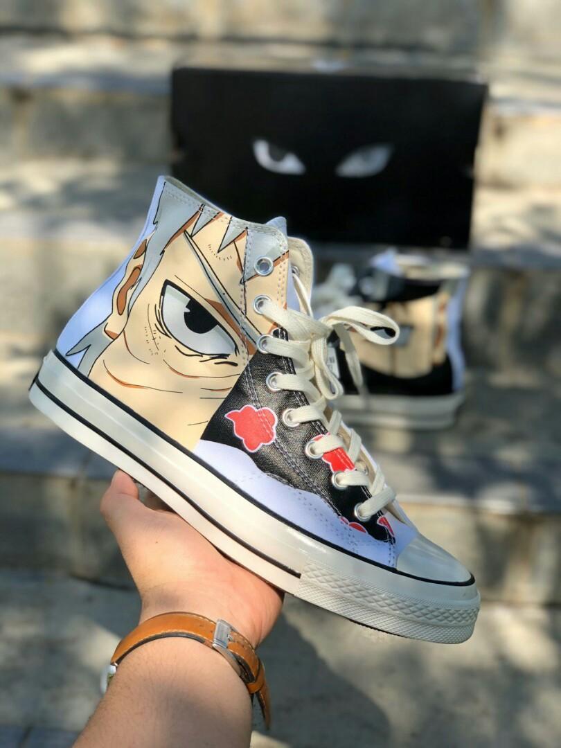 CONVERSE X NARUTO, Men's Fashion, Footwear, Sneakers on Carousell
