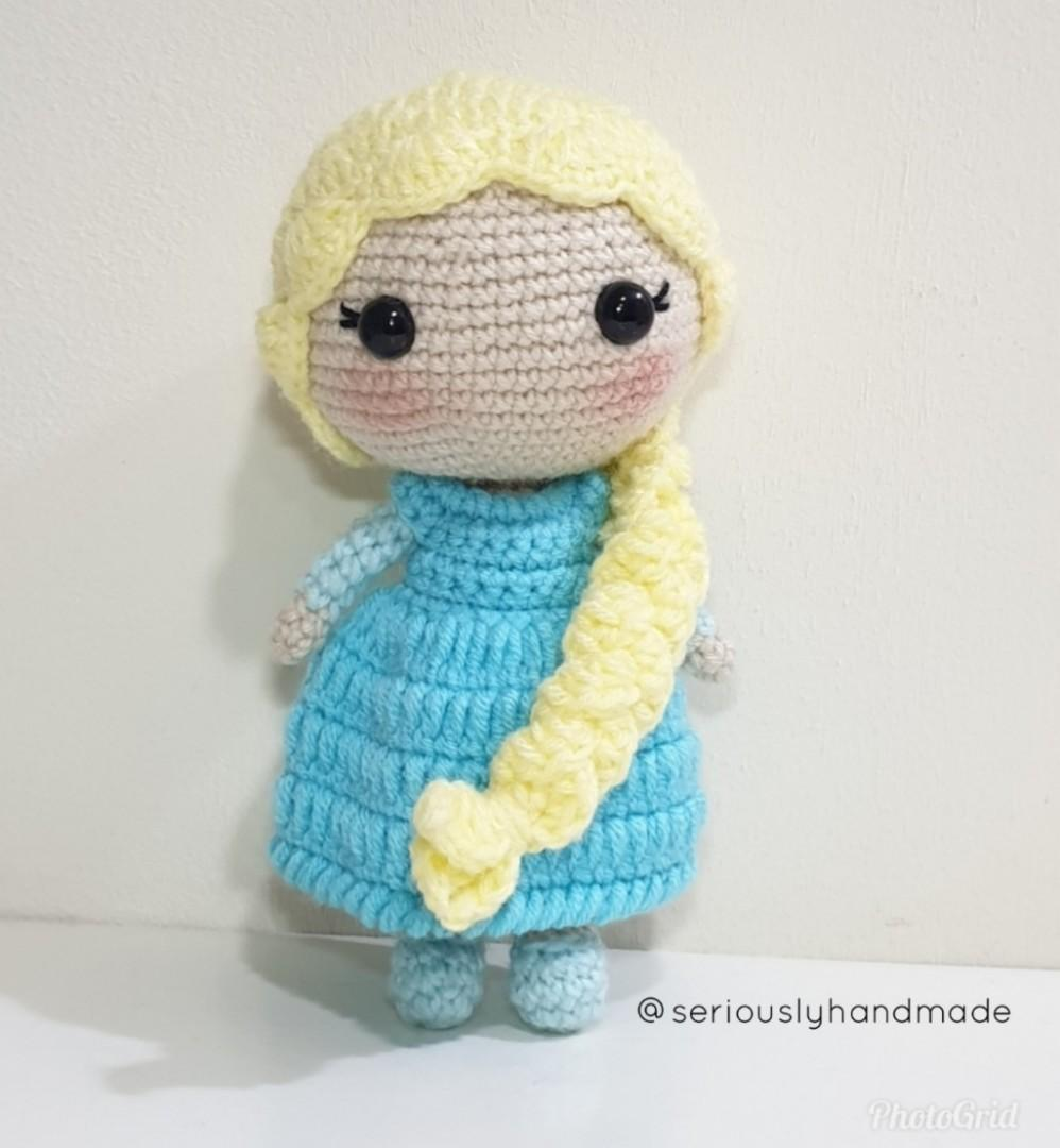 Crocheted ELSA
