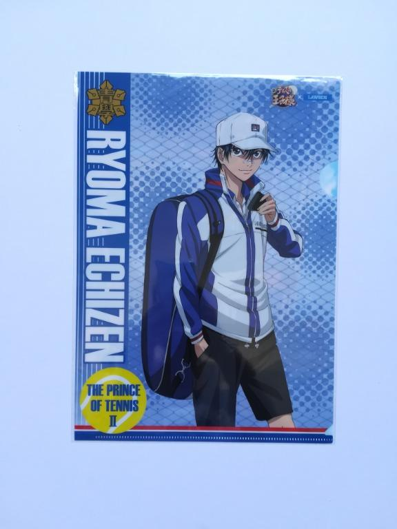 (Exclusive) Prince of Tennis II x Lawson - Ryoma Echizen / Kite Eishirou - Clear File