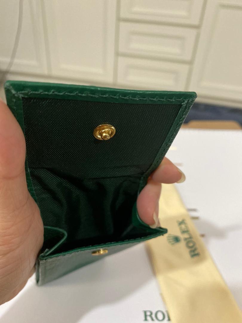Genuine Rolex Watch Travel Leather Pouch & New Handkerchief Cloth & 2020 calendar