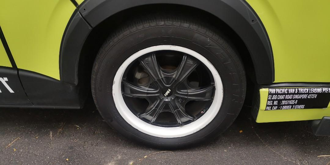 """Hiace 17"""" rim will to change with stock rim just add $300"""