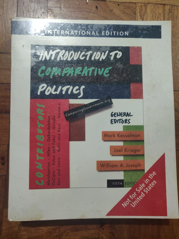 Introduction to Comparative Politics -Kesselman, Krieger, Joseph