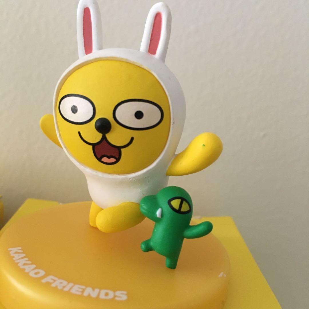 Kakao Friends Authentic Mini Figures - Muzi & Con, Tube