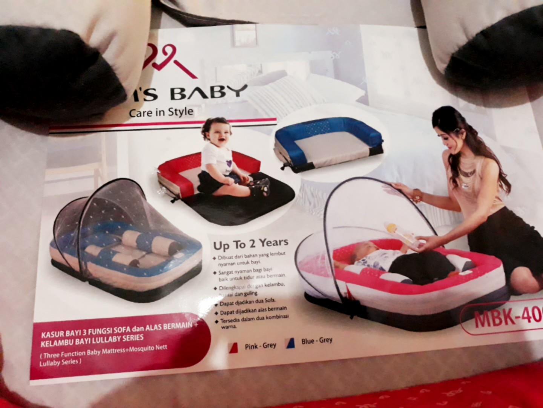 Kasur bayi Moms Baby 3 fungsi
