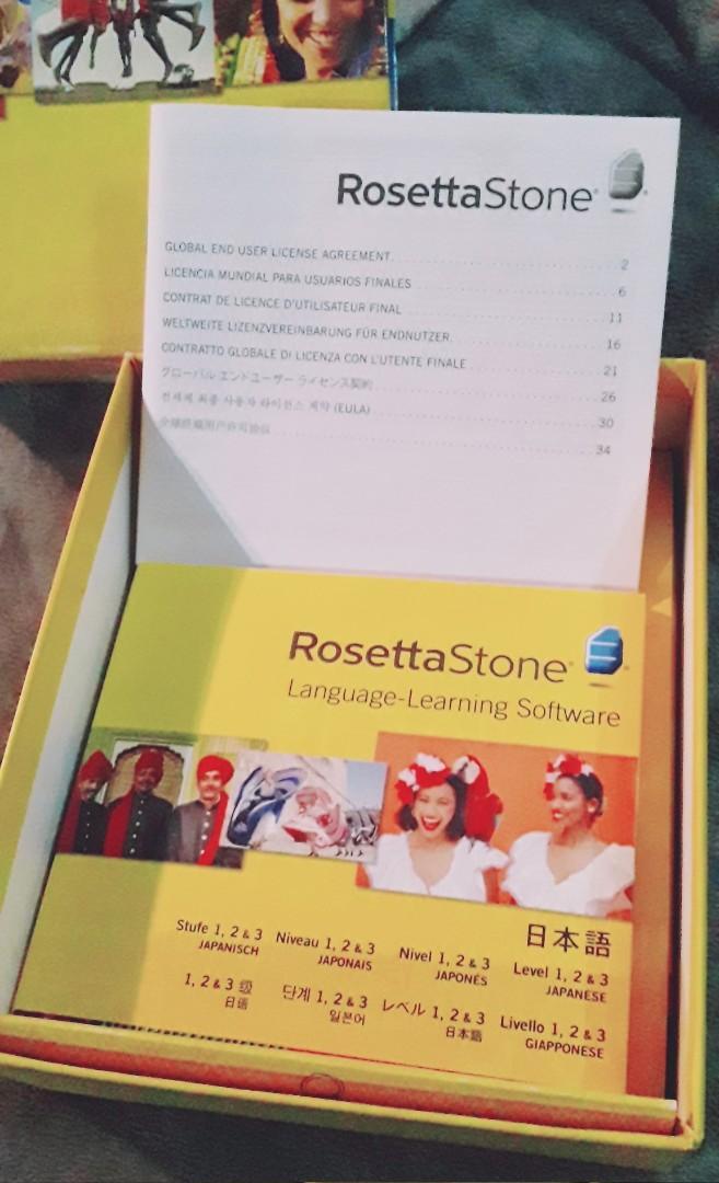 Lifetime subscription Rosetta Stone learn Japanese