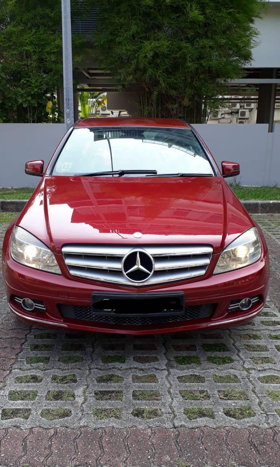 Mercedes-Benz C180 Kompressor (A)