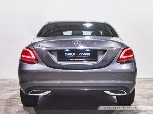 Mercedes-Benz C-Class Saloon F1 Auto Cars Edition C200 Sport (A)