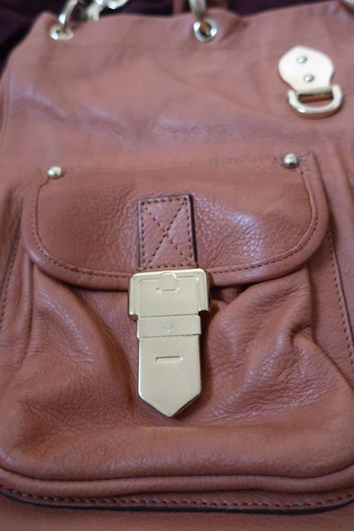 MULBERRY 'TILLIE' TOTE IN CHESTNUT (100% AUTHENTIC NEAR NEW)