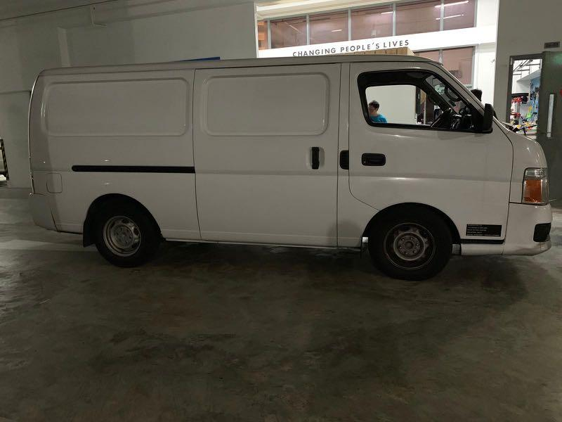 Van for rent (Short or Long term for lalamove/Gogovan)