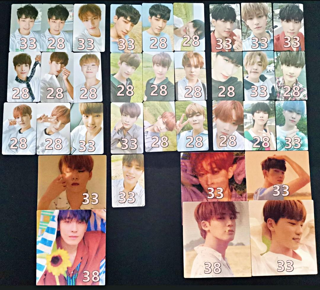 P8 - Seventeen You Make My Day Official Photocards Lenticulars