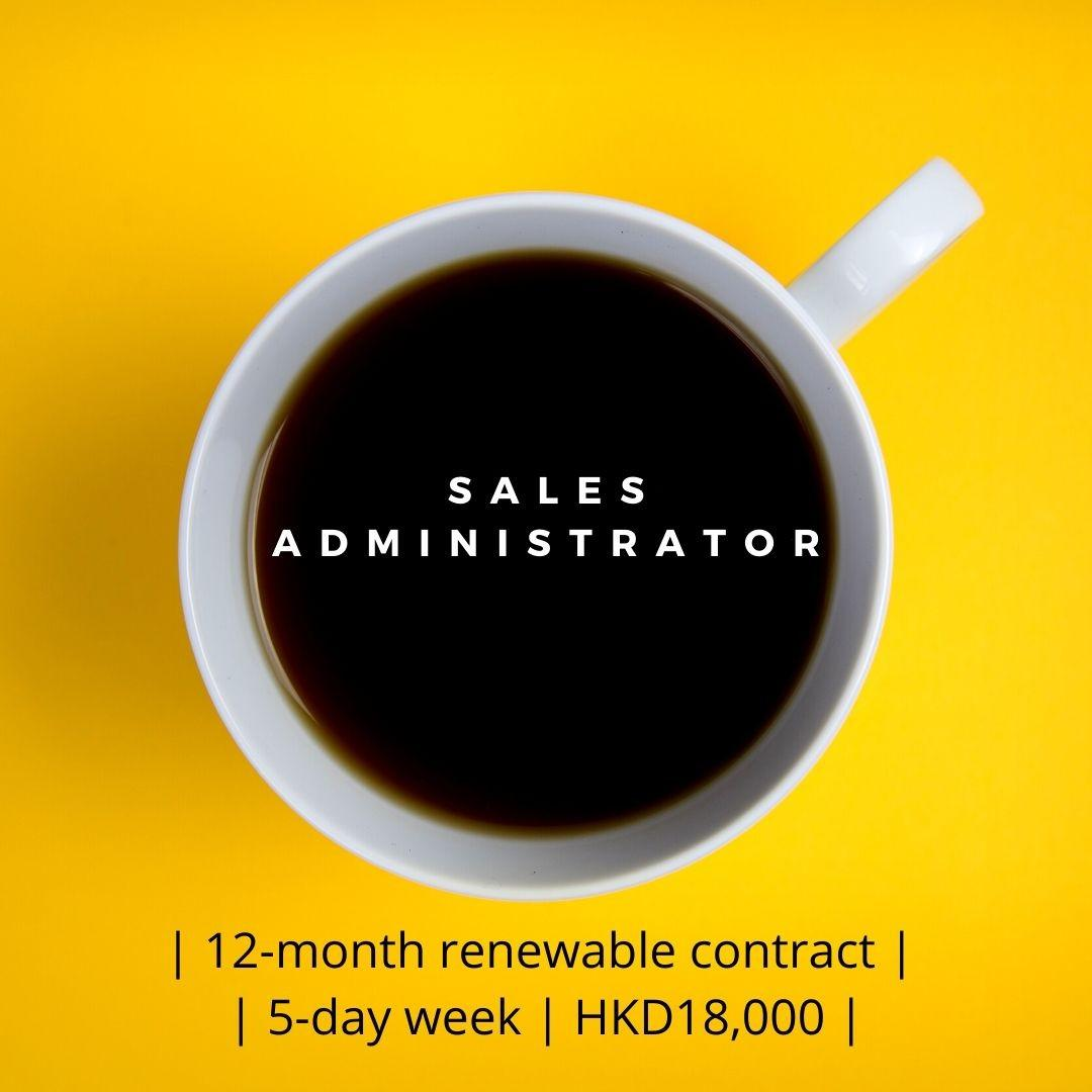 Sale Administrator (12-month renewable contract)