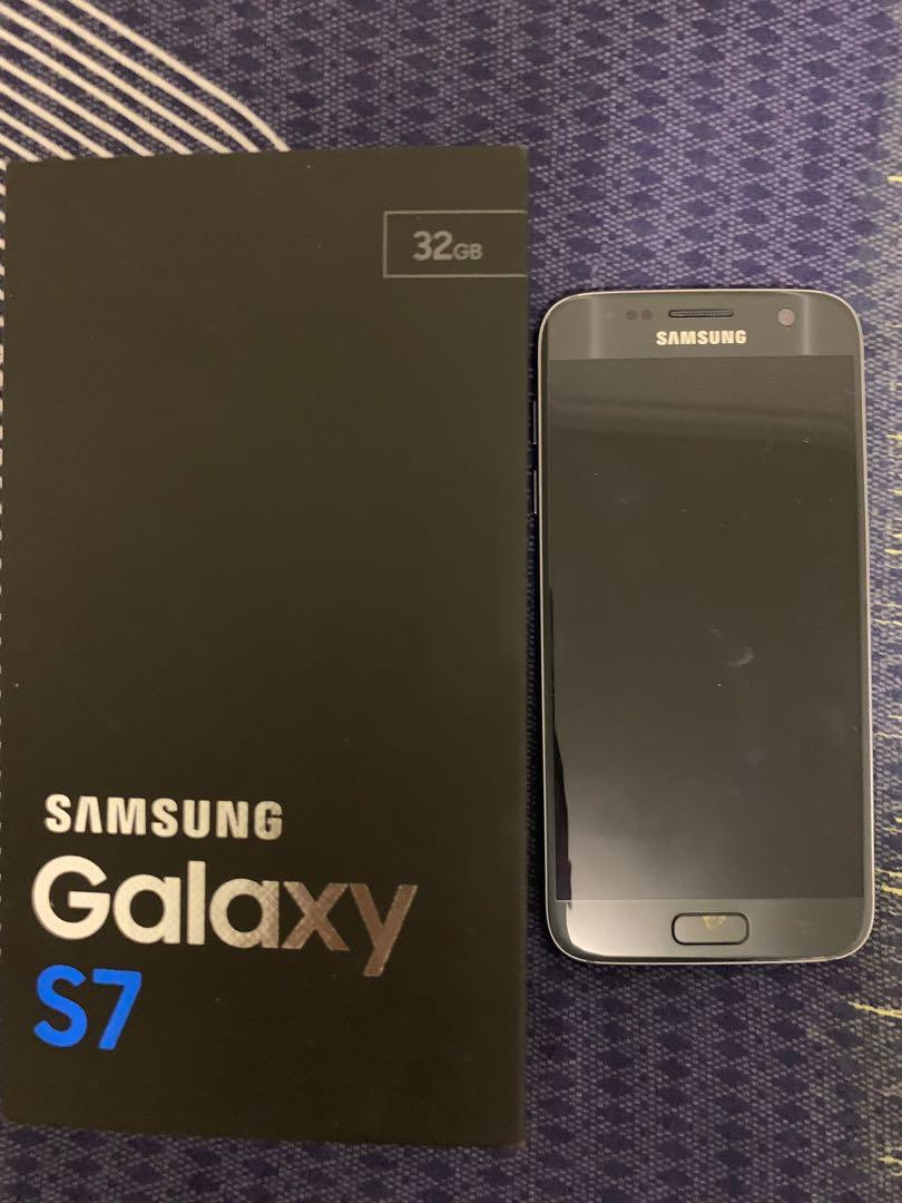SAMSUNG GALAXY S7 32 GB + CASE and 5 SCREEN PROTECTORS