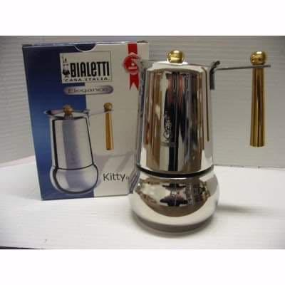 Stove top espresso makers and moka pots  Stainless Steel -Bialetti