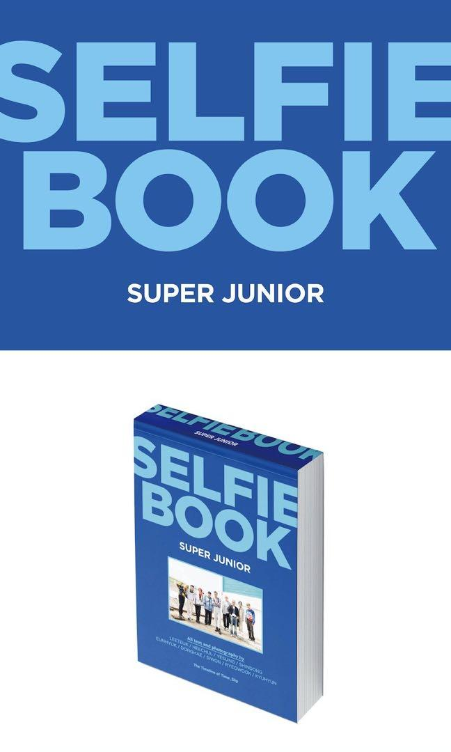 Super Junior Selfie Book - Documentary of Time Slip