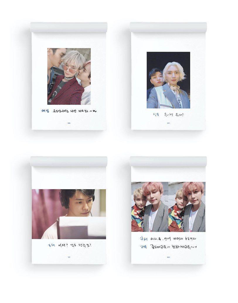 Super Junior Selfie Book - Documentary of Time Slip