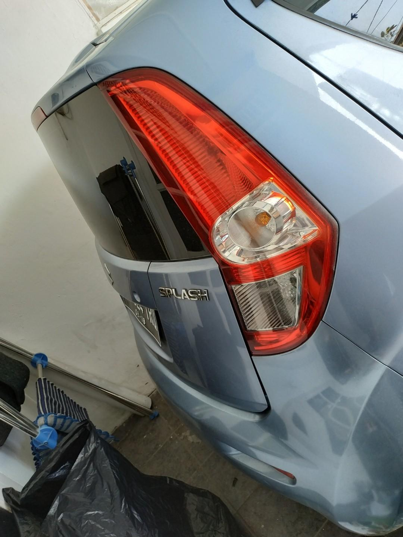 Suzuki splash 2013 pajak panjang murah jakarta timur cod harapan indah