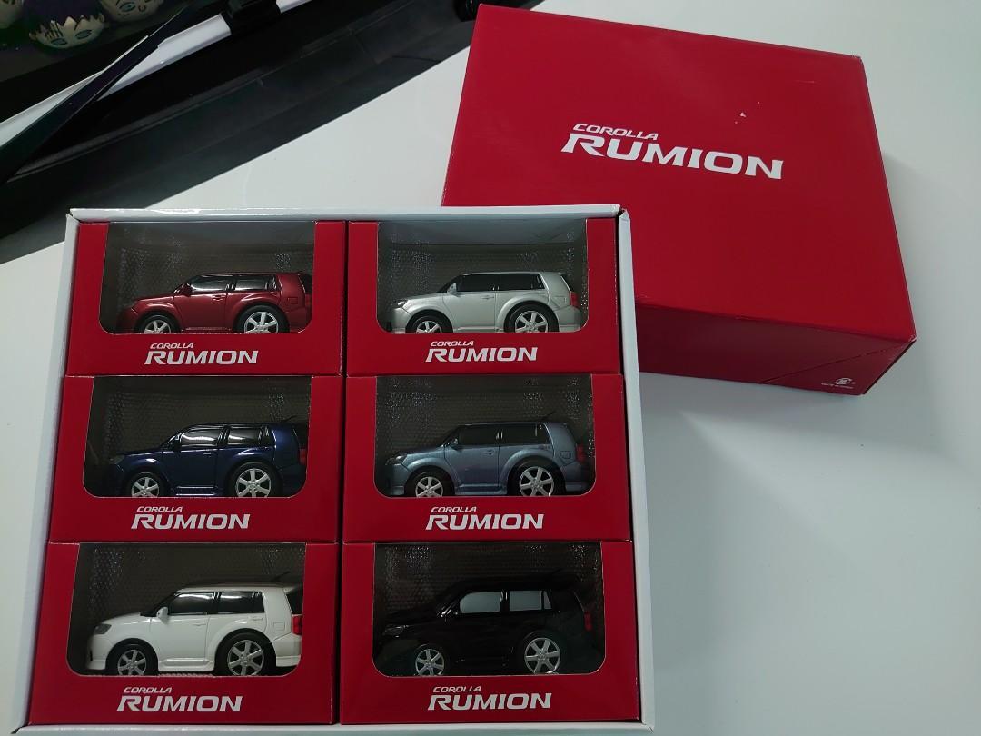 TOYOTA Rumion 1/43 前期車仔模型禮盒