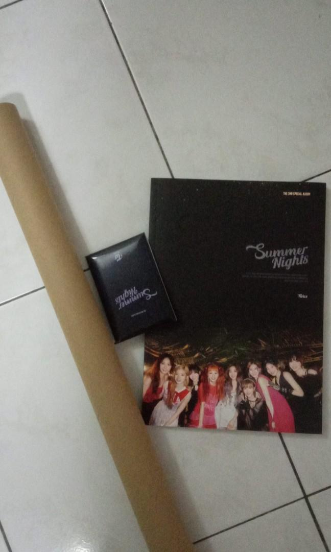 TWICE What Is Love 5th mini album & Summer Nights 2nd Special Album