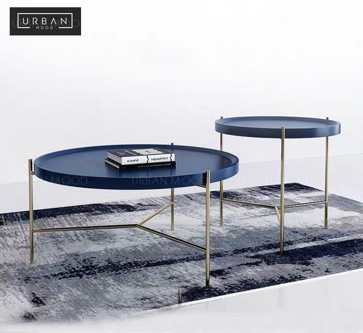 Valor Modern Round Coffee Table Furniture Tables Chairs On Carousell