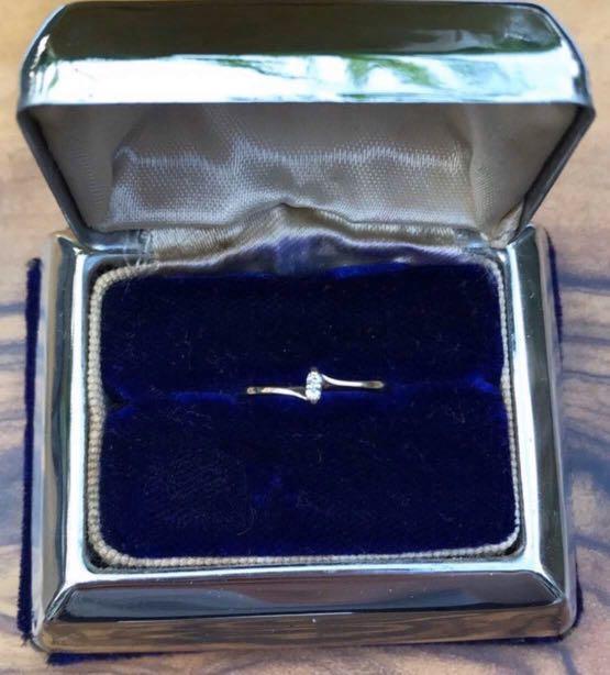Vtg Birks Gold Ring 14k + Diamonds Gift Idea For Her!