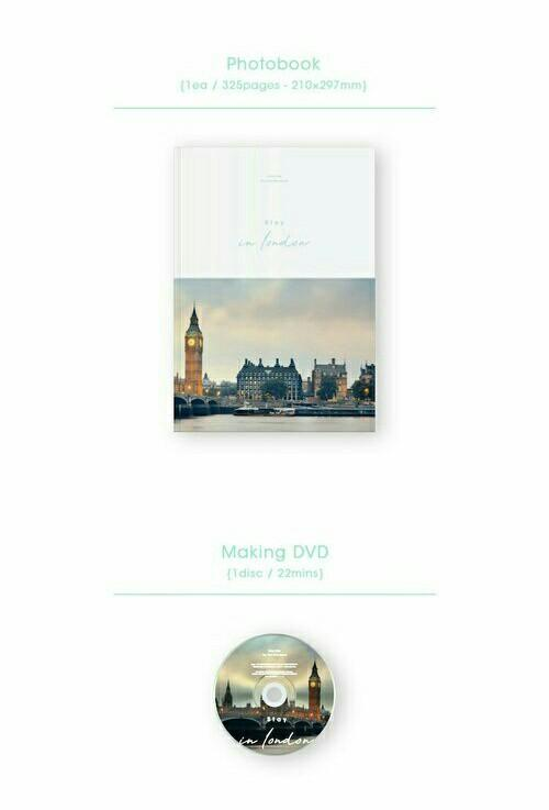 [WTS] Stray Kids STAY in London Photobook Loose Item(s)