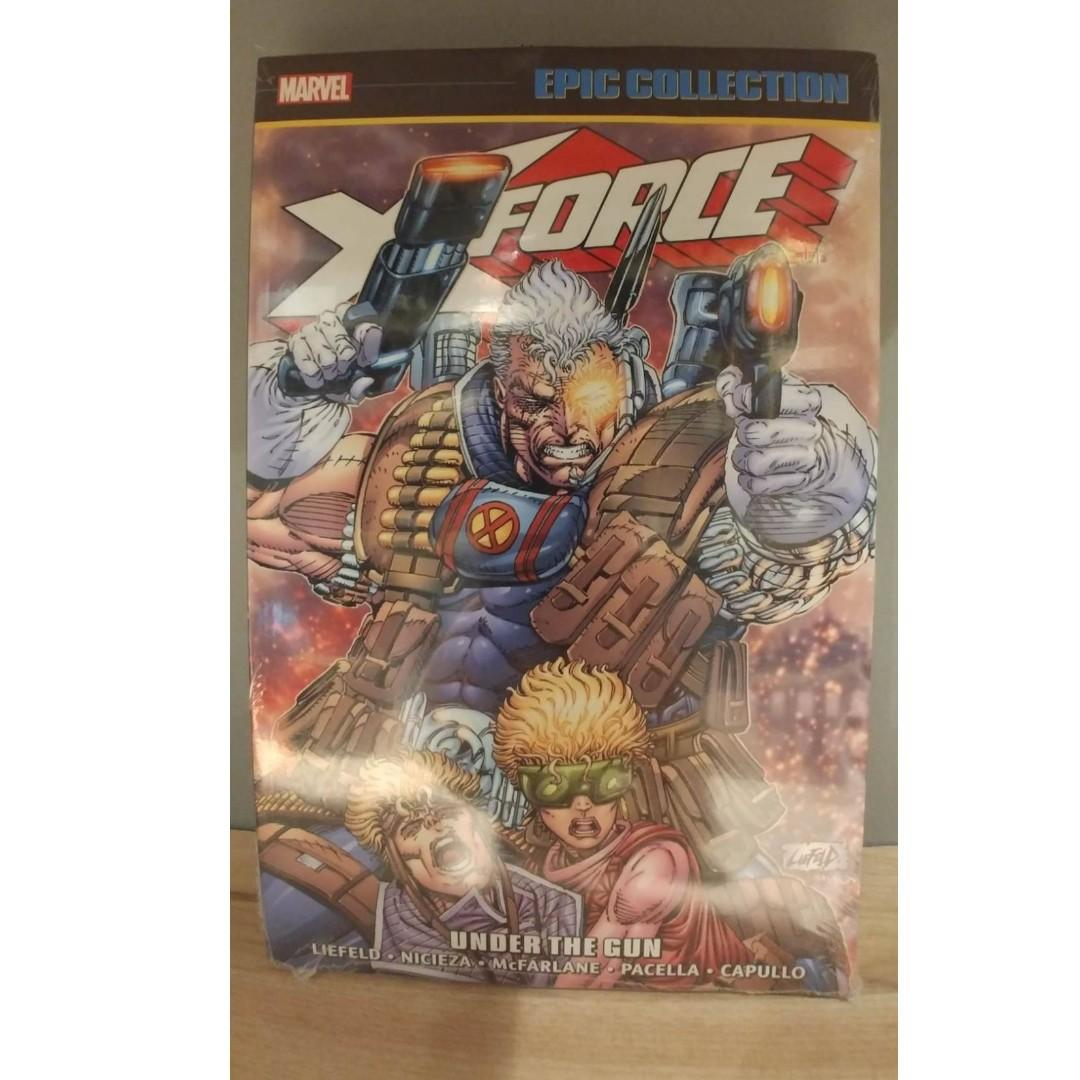 X-Force Under the Gun TPB (2017 Marvel) Epic Collection # 1-1ST ROB LIEFELD