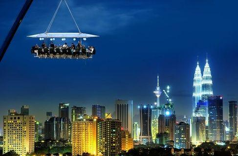 [50% OFF] Dinner In Sky Voucher with Weather Insurance for 2 Pax