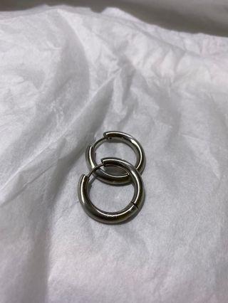 圓圓的 耳環