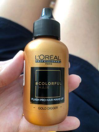 L'Oréal flash makeup 暫時染劑 60ml