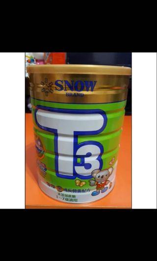 雪印3號成長階段奶粉