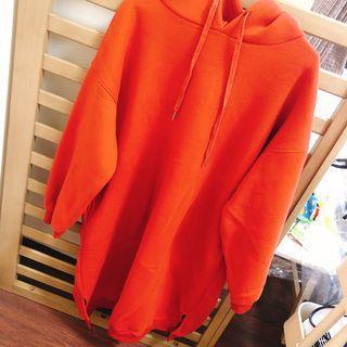 橘紅長版洋裝