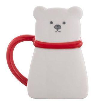 星巴克 北極熊造型馬克杯