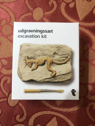便宜賣法國帶回,恐龍化石考古教育裝飾品!