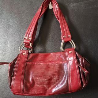 Nine West Red Leather Bag