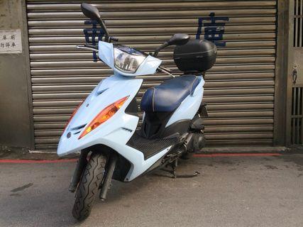 【寄賣】2009年山葉GTRL液晶版125CC噴射版(天空藍)