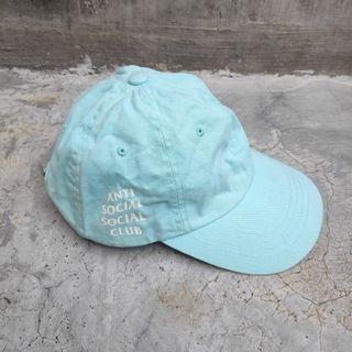 ANTI SOCIAL SOCIAL CLUB Light Turquoise Hat Topi