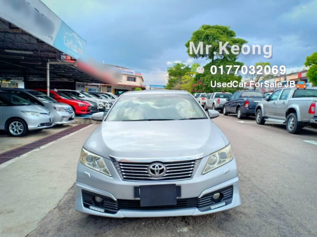 2013TH🚘TOYOTA CAMRY 2.0AT G SPEC🎉Low MILEAGE Cash💰OfferPrice💲Rm71,500 ONLY‼ LowestPrice InTown🎉Call📲Keong ForMore🤗