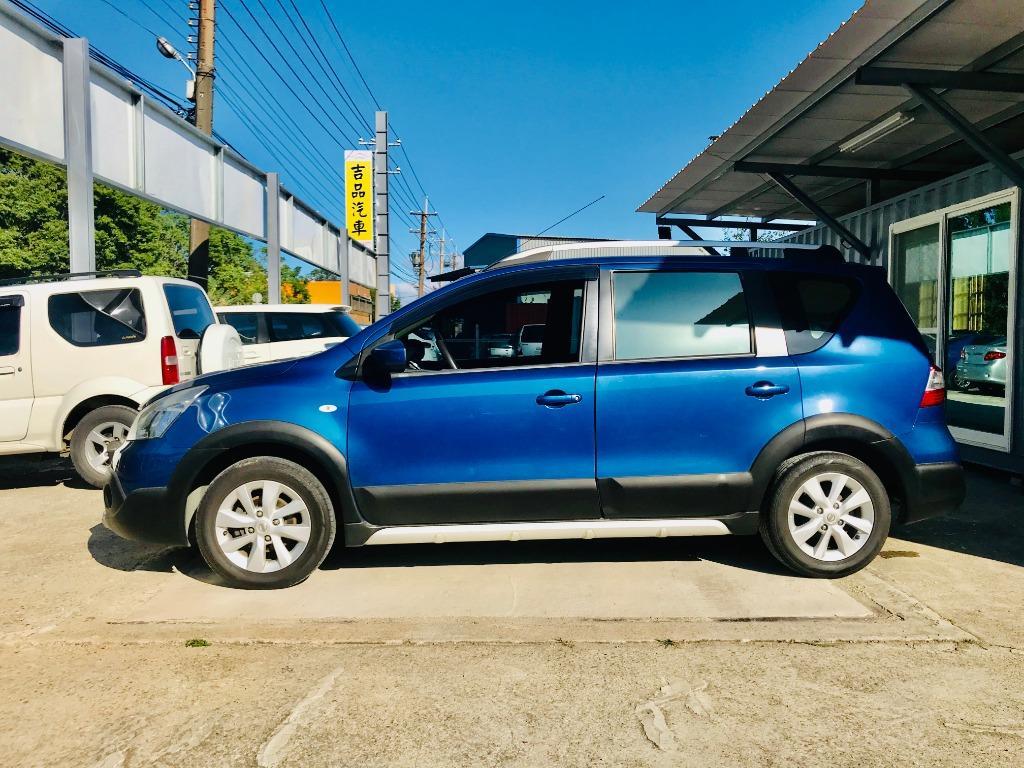 2014 Nissan Livina 1.6   影音、行李架高CP車款 ❗  環島級省油+巨蛋級空間💕
