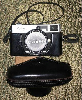 Canon Canonet 1960年 底片老相機 日本製