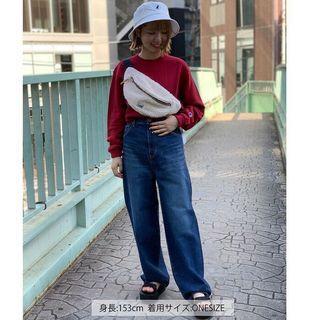 日本正品代購lee毛毛絨毛泰迪熊側背包小包腰包肩背包可愛日本流行日本限定棉花糖羔羊
