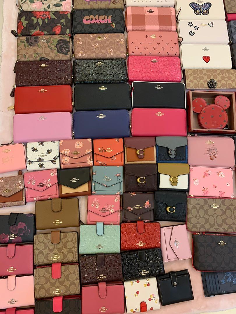 (28/11/19)Ready Stock authentic coach women wallet purse clutch wristlet Black Friday sales hhnj