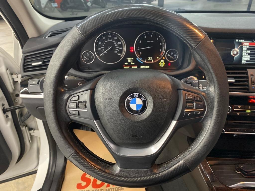 🔥帥爸爸休旅車!! 正2014年出廠  BMW X3 X-Drive 28i