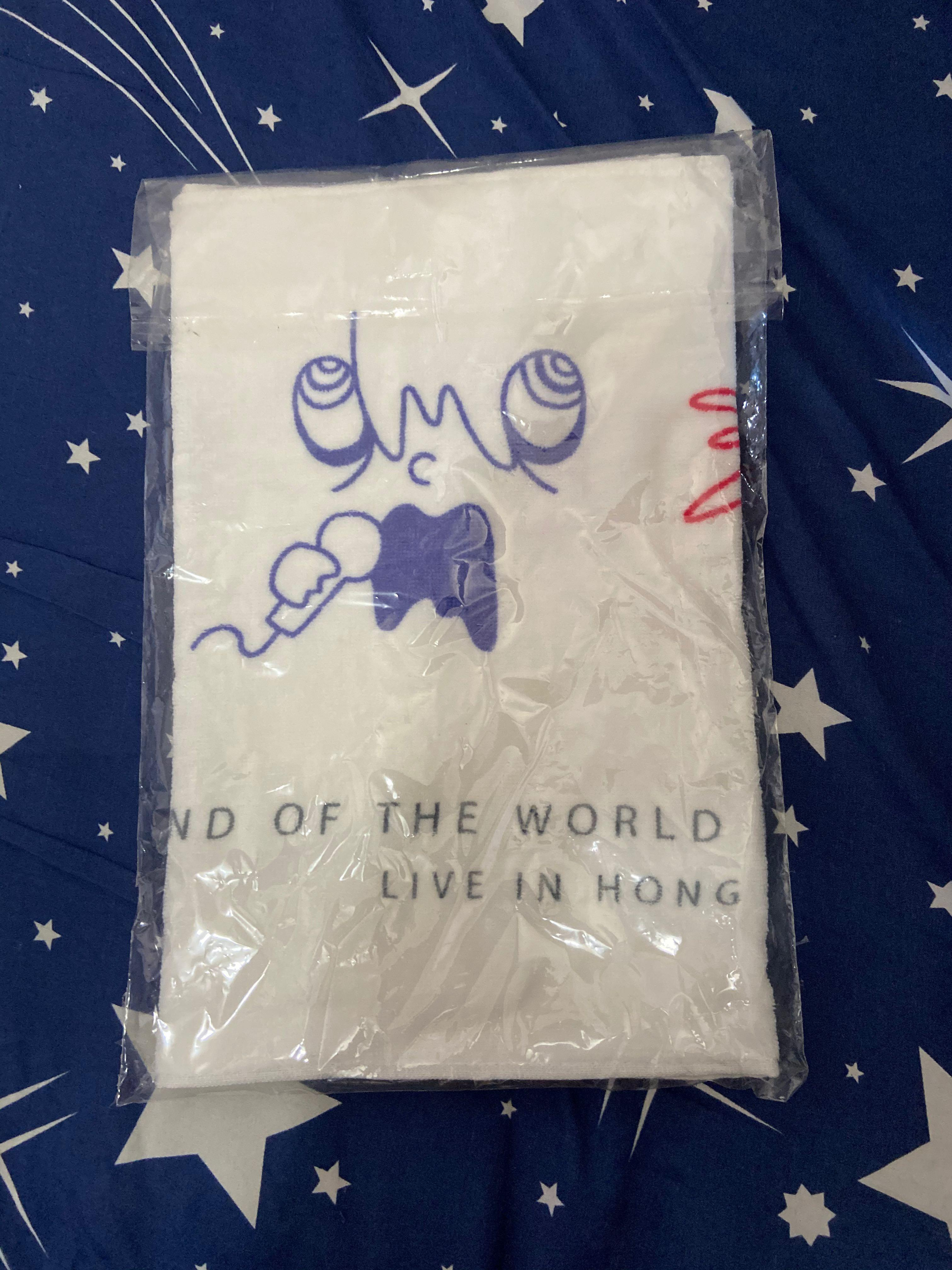 世終 SEKAI NO OWARI 毛巾 2018 香港站