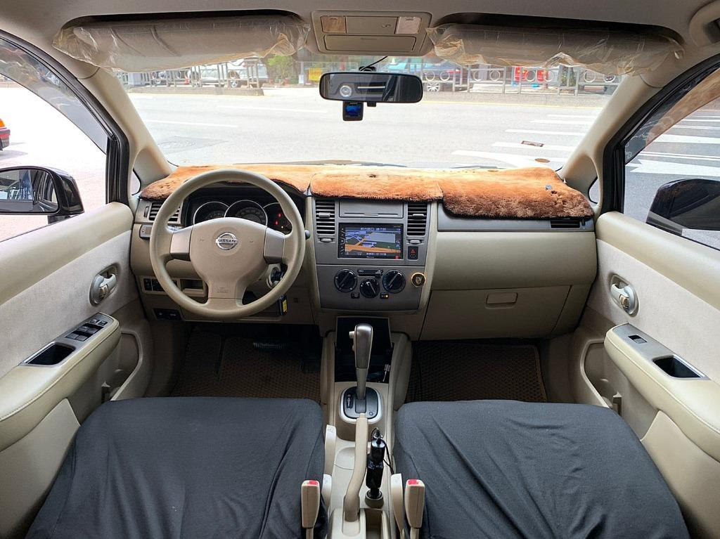 日產 tiida 1.6 雙安 導航 倒車顯影 影音 胎壓偵測器 魔術大空間