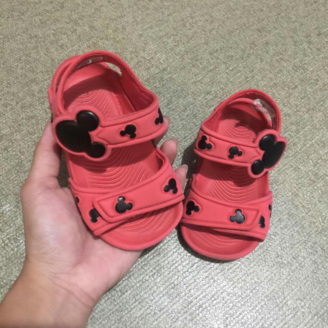 Adidas Mickey Mouse sandals, Babies