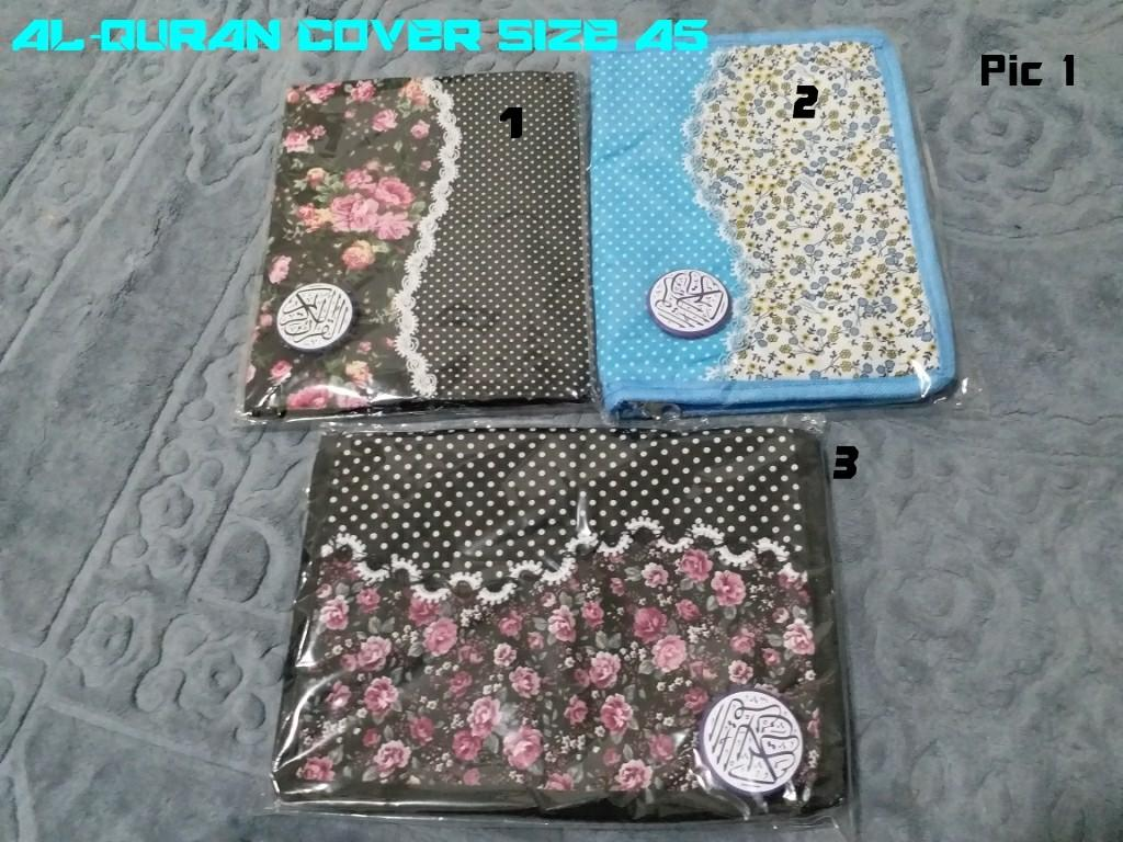 Al Quran Cover Size A5 Cantik Books Stationery Books On Carousell