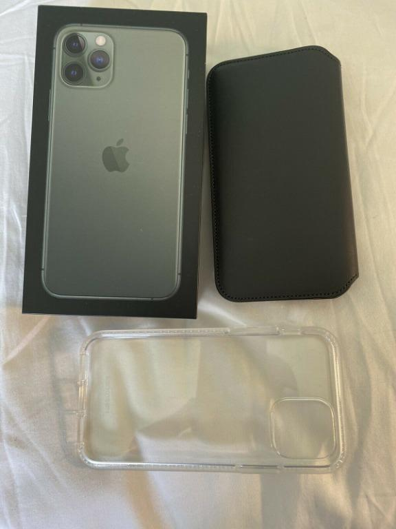 Apple iPhone 11 Pro - 64GB - Midnight Green (Unlocked)